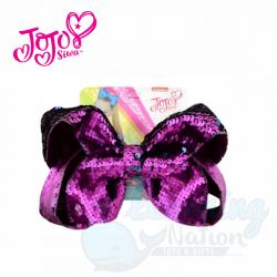 JoJo Bow Shimmering Purple