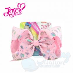 JoJo Bow Pink Unicorn