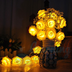 Fairy Rose Lights - 4M long