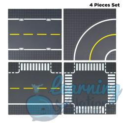 City Road Plates - 4 Pieces...