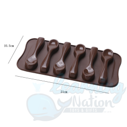 Silicon Spoon Shaped Moulds