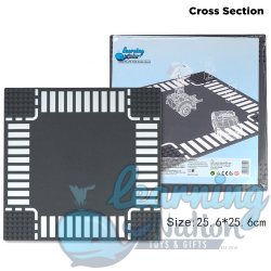 Crossroad Section Street Plate