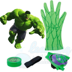 Hulk Playing Glove