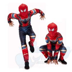 Iron Spiderman Muscle Costume