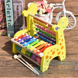 Wooden Giraffe Activity Set