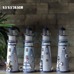 28.5cm Lighthouse Candle Stand