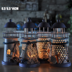 14cm Lighthouse Candle Stand