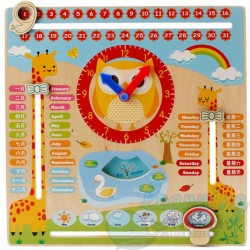 Wooden Calendar Board