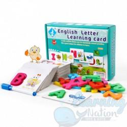 Wooden Letter Learning Kit