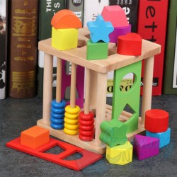 Wooden Post it Activity Set