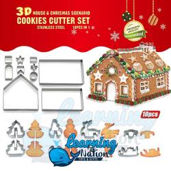 Christmas Cookies Cutter Set