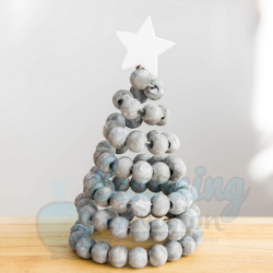 18CM Wooden Beads Christmas...