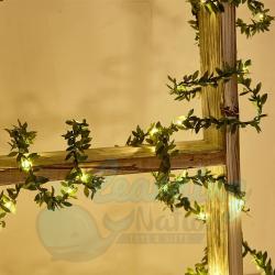 Leaf Fairy Lights 5m -...