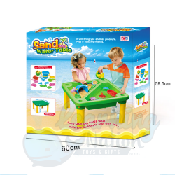 Deluxe Beach Table and Toys...
