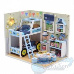 DIY House Boy Bunker Room