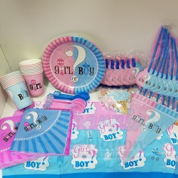 Gender Reveal Party Set
