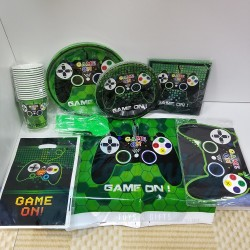 Game On Gamer Party Set