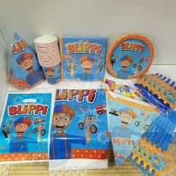 Learning with Blippi Party Set