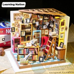DIY House Corner Bookshop