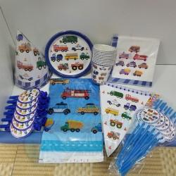 Vehicles Party Set