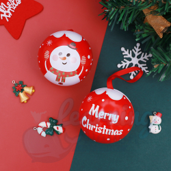 Christmas Candy Orb Containers