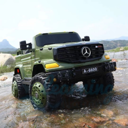 Army Green Merc Drivable Truck