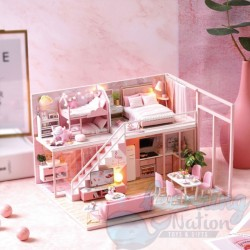 DIY House Pink Baby Room