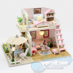 DIY House Pink Beachsite Flat
