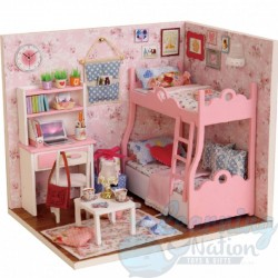 DIY House Pink Children Room