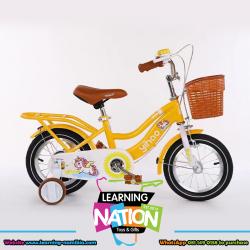 Yellow Unicorn Bicycle