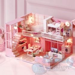 DIY House Pink Romance