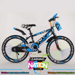 """Blue Large 20"""" Action Bicycle"""
