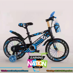Blue Action Bicycle