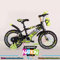 Yellow Action Bicycle