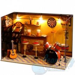 DIY House Rock n Roll Corner