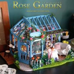 DIY House Rose Tea Garden