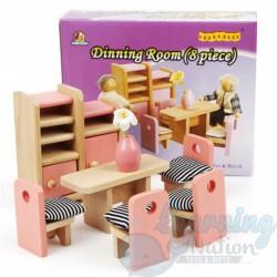 Dollhouse Dining Room...