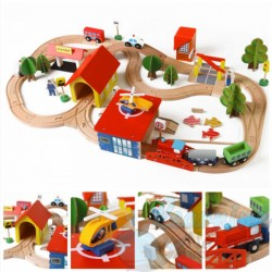 Wooden Railtracks Set