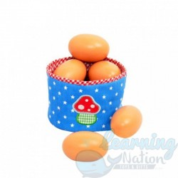 Wooden Paintable Eggs