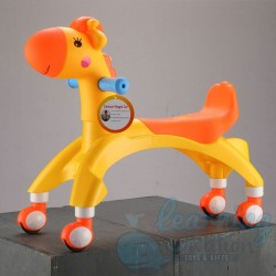 Giraffe Wiggle Scooter Orange