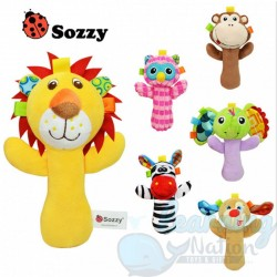 Hand Held Soft Rattle