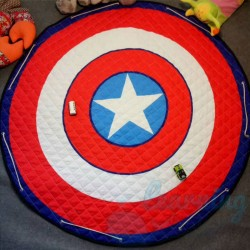 Baby Mat Captain America