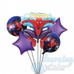 Spiderman Foil Balloon Set