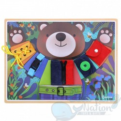 Wooden Bear Practical Set