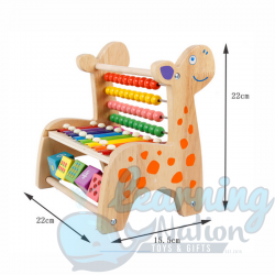 Wooden Giraffe Xylophone