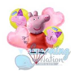 Peppa Pig Foil Balloon Set