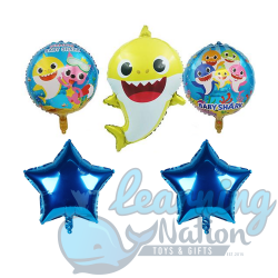 Baby Shark Foil Balloon Set
