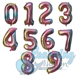 Number Foil Balloons -...