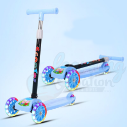 Pedal Scooters Blue