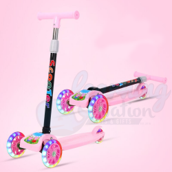 Pedal Scooters Pink
